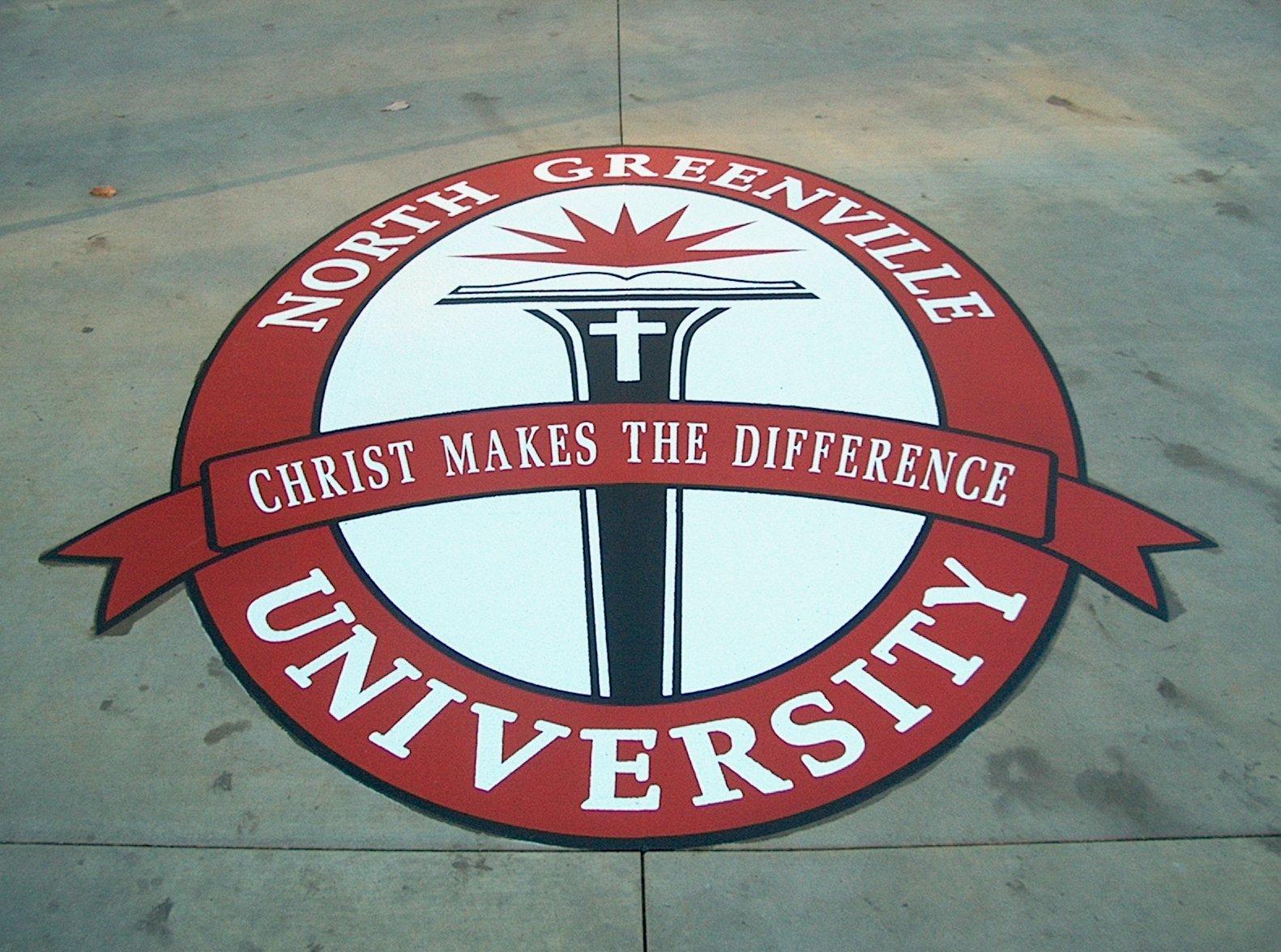 North Greenville University Thermoplastic Logo
