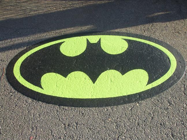 Batman Thermoplastic Logo