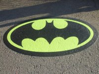 Batman Thermoplastic Logo