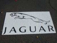 Jaguar Thermoplastic Logo