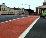 Inlaid Thermoplastic ThermoPrintHT crosswalks 3