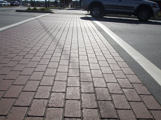 Stamped Concrete Pavement : Stamped asphalt crosswalks charlotte nc