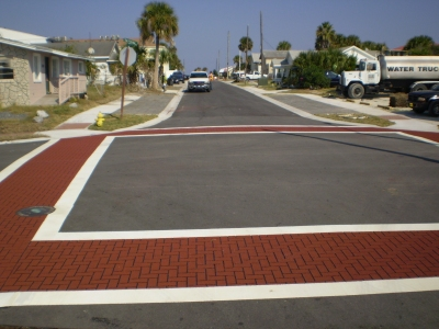 FrictionPave Crosswalks - Herringbone Modèle 2