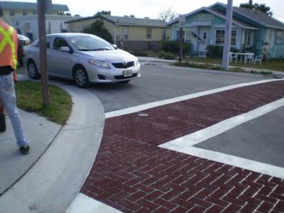FrictionPave Crosswalks - Herringbone Modèle 6