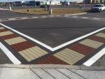 Stamped Asphalt School Yard - Fishscale and Custom Patterns 6