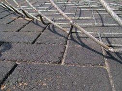 stamped asphalt