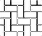 Herringbone StencilCoat Pattern