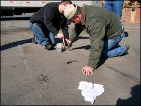 Asphalt Crack Repair Training