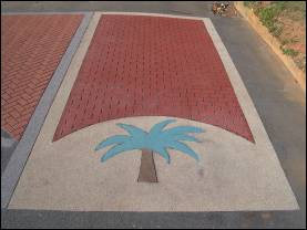 FrictionPave Palm Tree